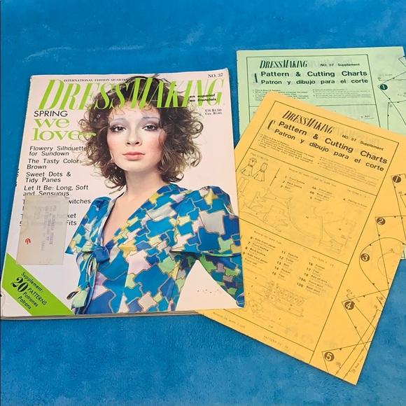 1971 FASHION Dressmaking International Quarterly